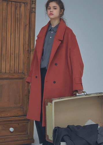 Overfit Double coat red