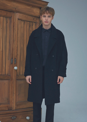Overfit Double coat black